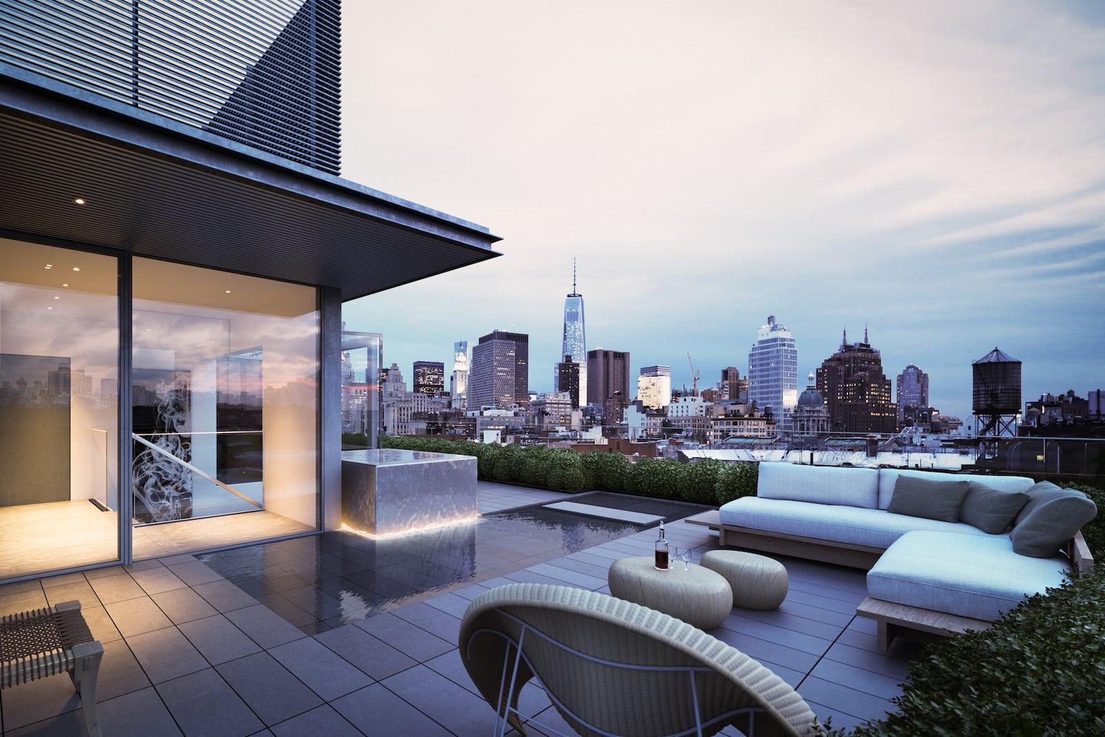 Das tadao penthouse in new york von tadao ando mr.goodlife
