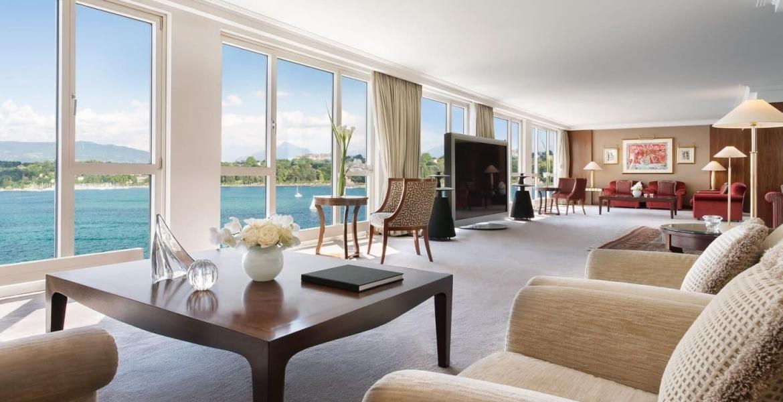 Genf hat die teuerste Hotel-Suite der Welt: Die Royal Penthouse Suite