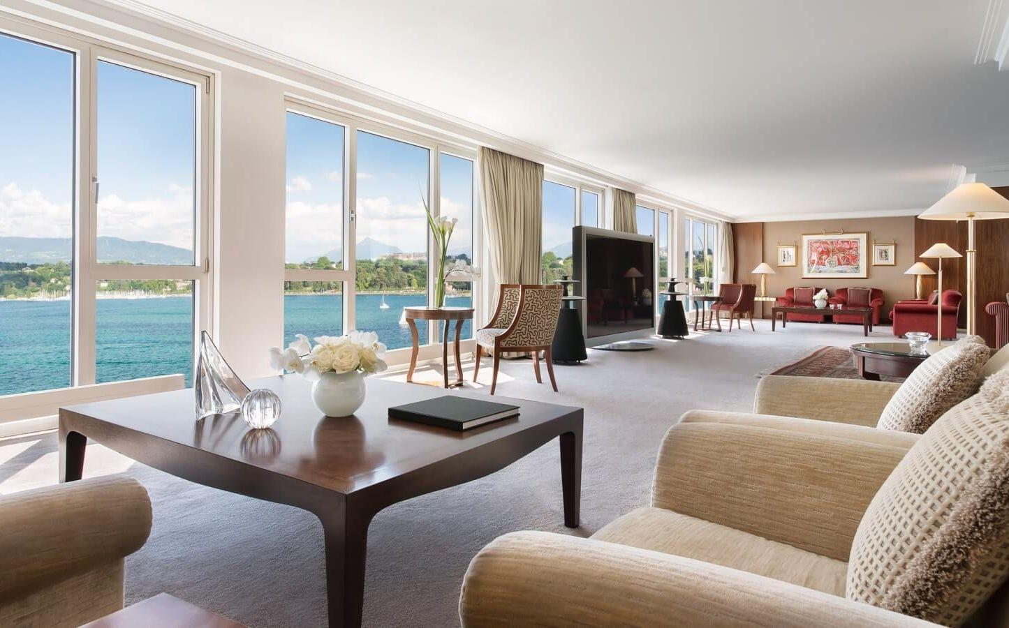 genf hat die teuerste hotel suite der welt die royal penthouse suite. Black Bedroom Furniture Sets. Home Design Ideas