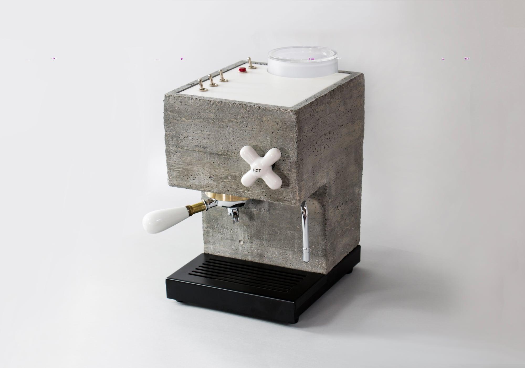 So lecker ist Sichtbeton: Die Anza Concrete Espresso Machine 2