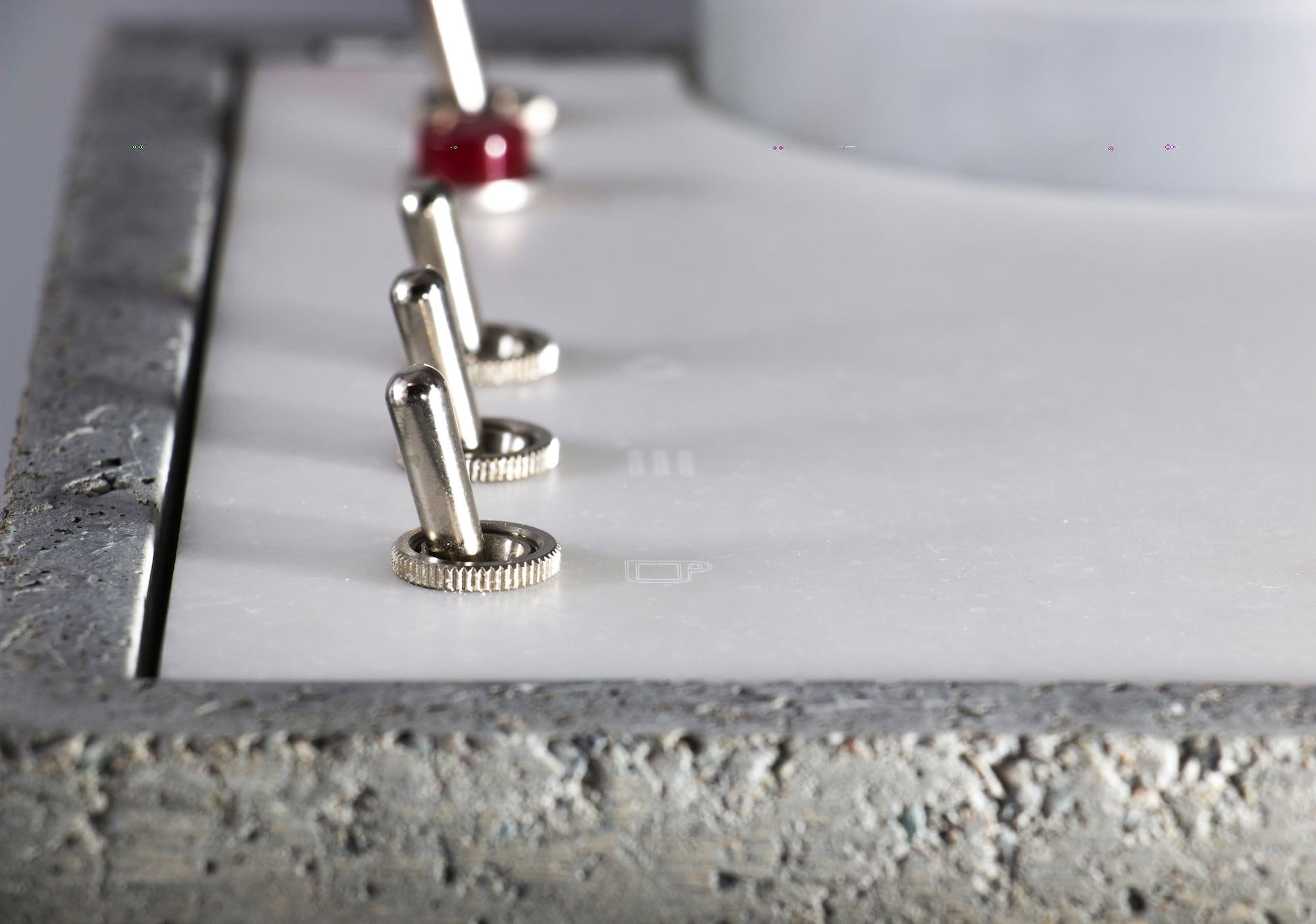So lecker ist Sichtbeton: Die Anza Concrete Espresso Machine 3