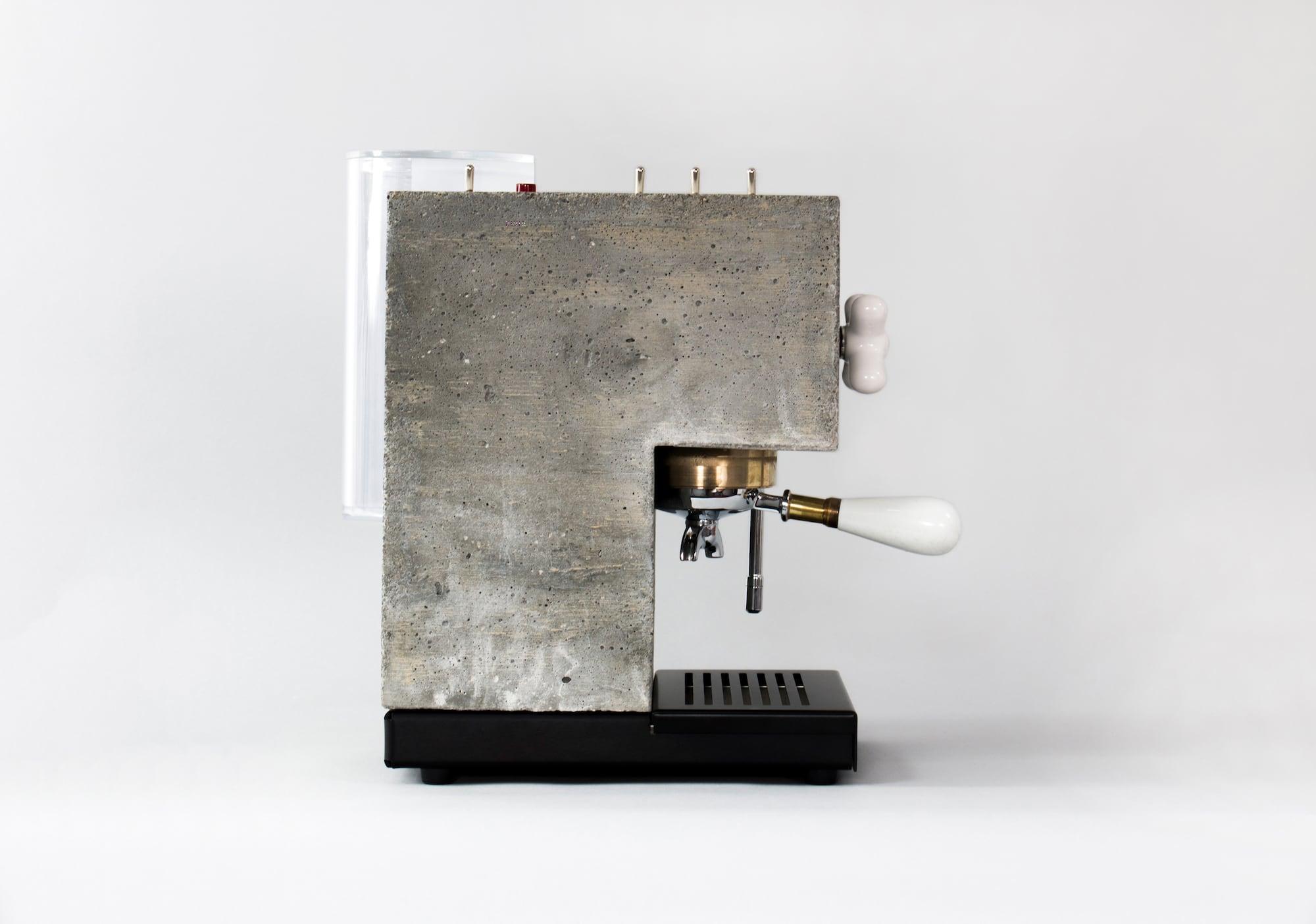 So lecker ist Sichtbeton: Die Anza Concrete Espresso Machine 5