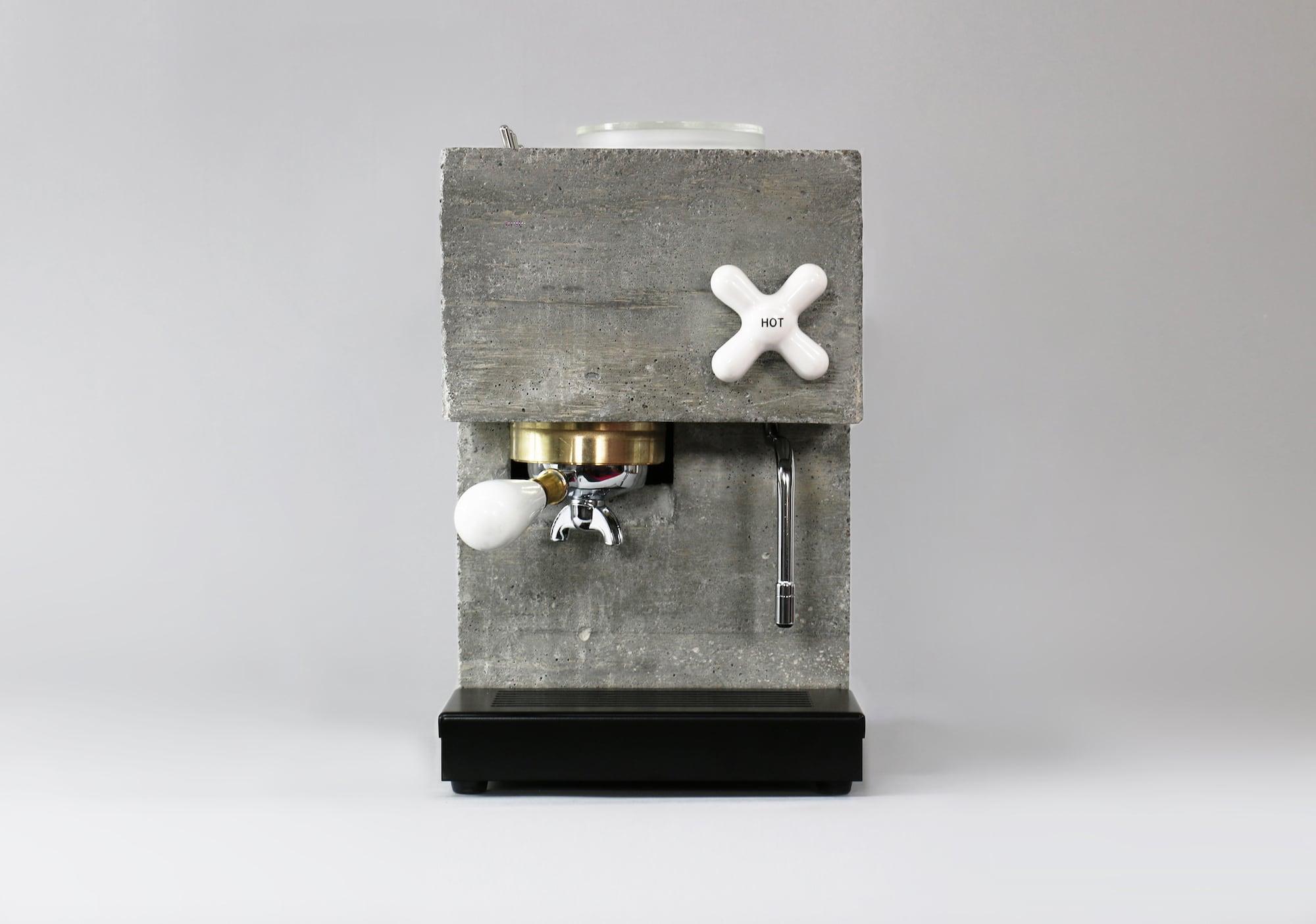 So lecker ist Sichtbeton: Die Anza Concrete Espresso Machine 6