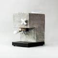So lecker ist Sichtbeton: Die Anza Concrete Espresso Machine