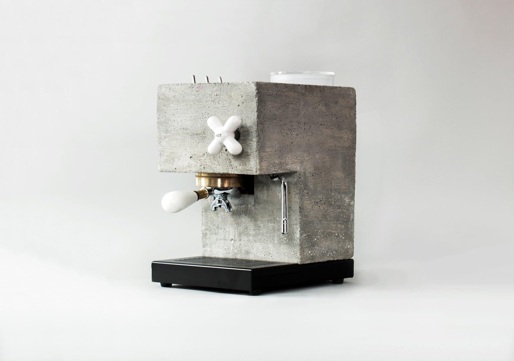 So lecker ist Sichtbeton: Die Anza Concrete Espresso Machine 1