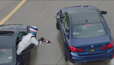 BMW erkämpft sich mit dem neuen M5 den Weltrekord für den längsten Drift zurück