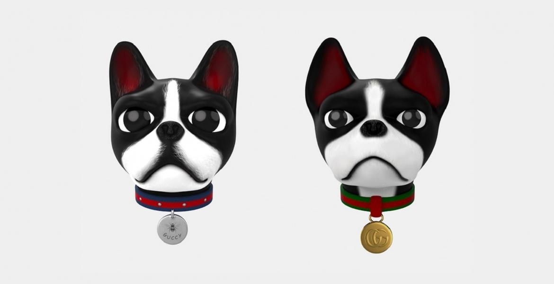 Gucci stellt als erste Fashion Brand eigenes Animoji vor