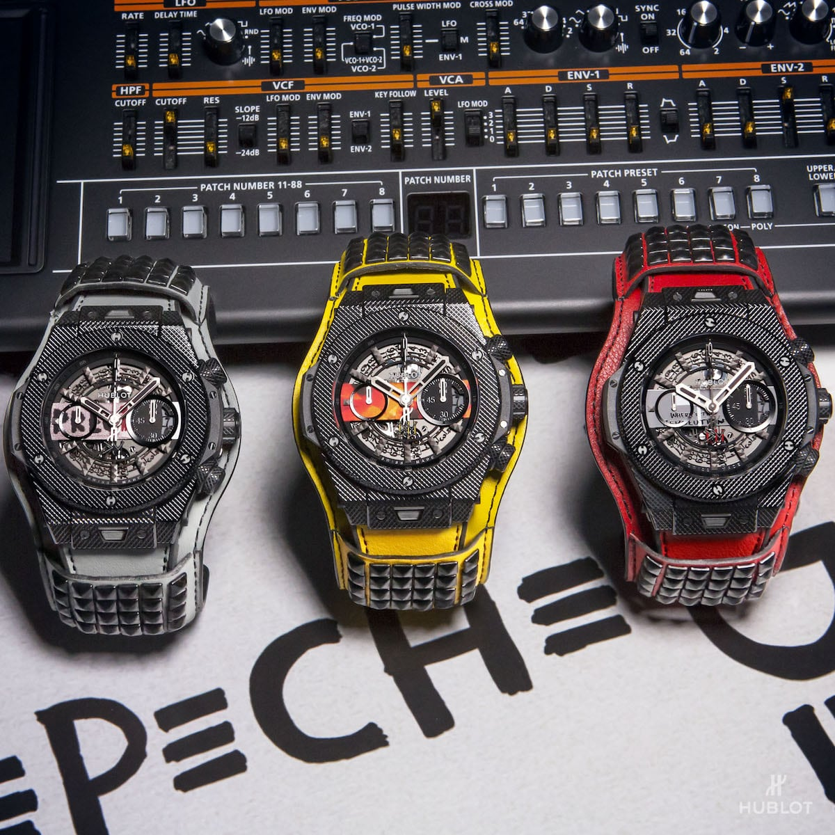 "Hublot präsentiert Big Bang Depeche Mode ""The Singles"" Limited Edition 2"