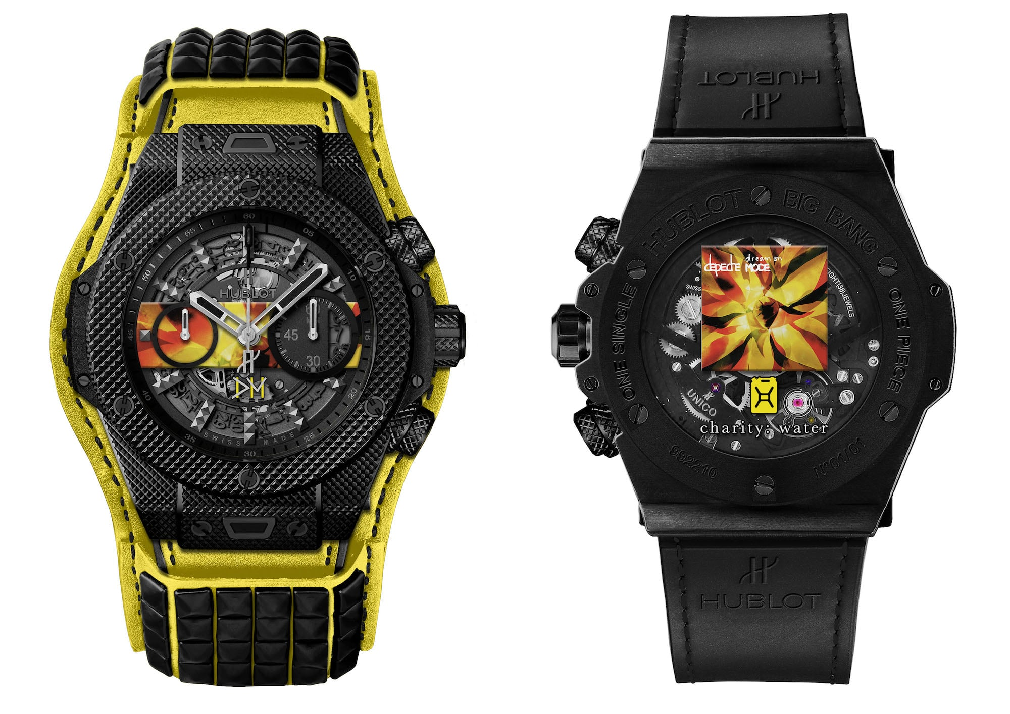"Hublot präsentiert Big Bang Depeche Mode ""The Singles"" Limited Edition 3"