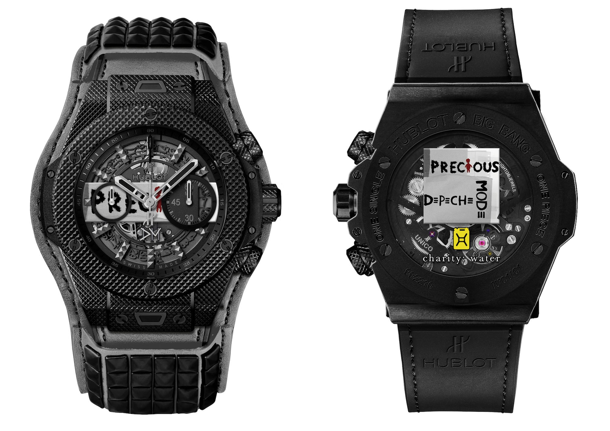 "Hublot präsentiert Big Bang Depeche Mode ""The Singles"" Limited Edition 4"