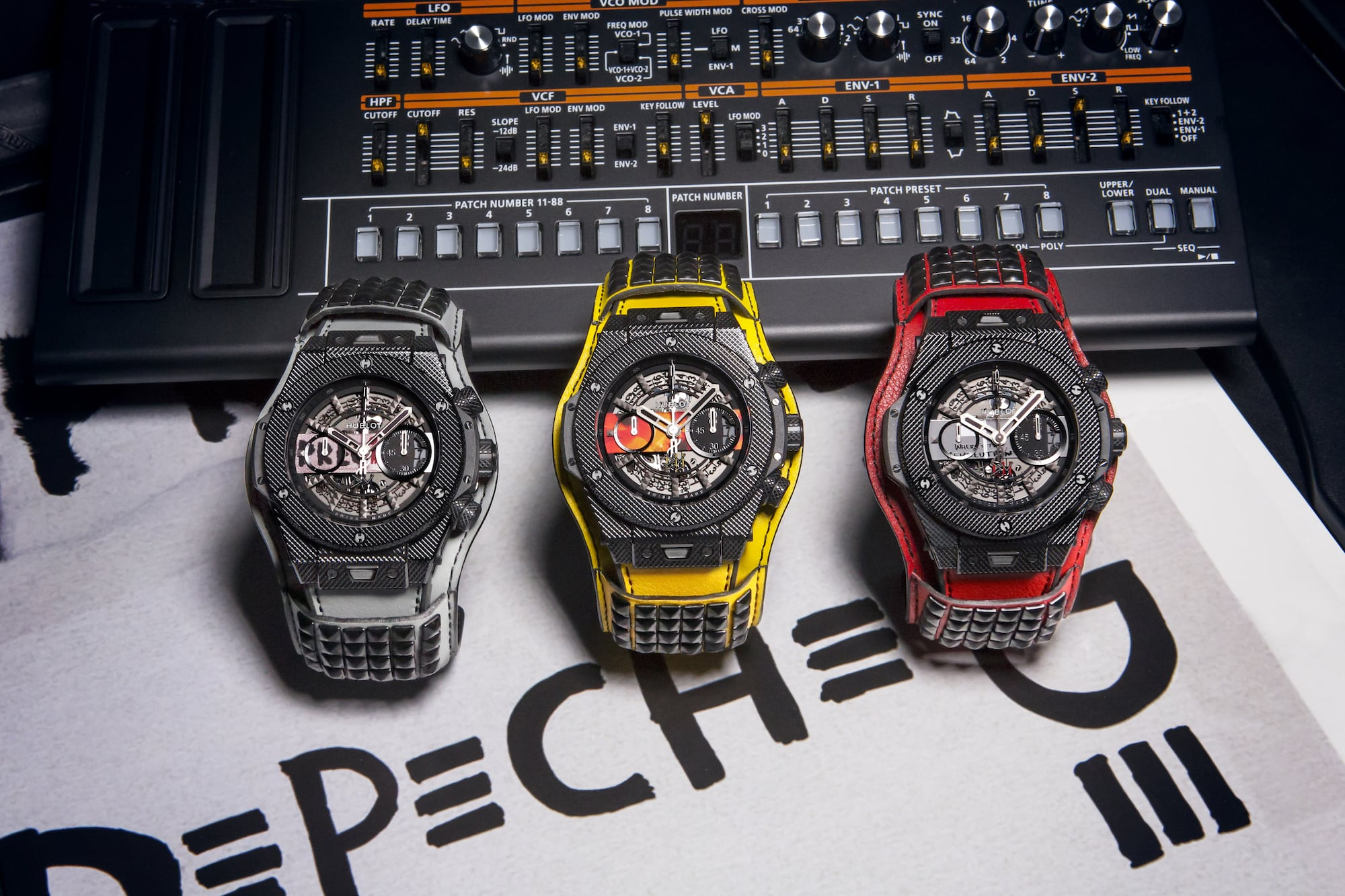 "Hublot präsentiert Big Bang Depeche Mode ""The Singles"" Limited Edition 1"