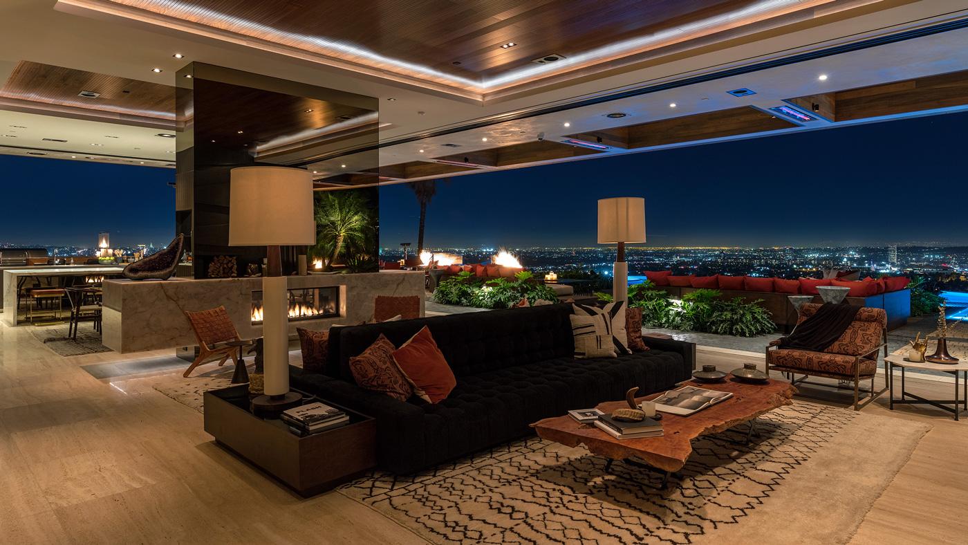 Lenny Kravitz designt das Interieur eines $38 Millionen Dollar Anwesen's in L.A 2