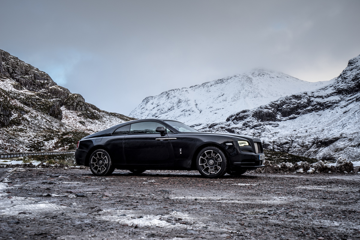 Touring With a Super GT. The Rolls-Royce Wraith Black Badge 5