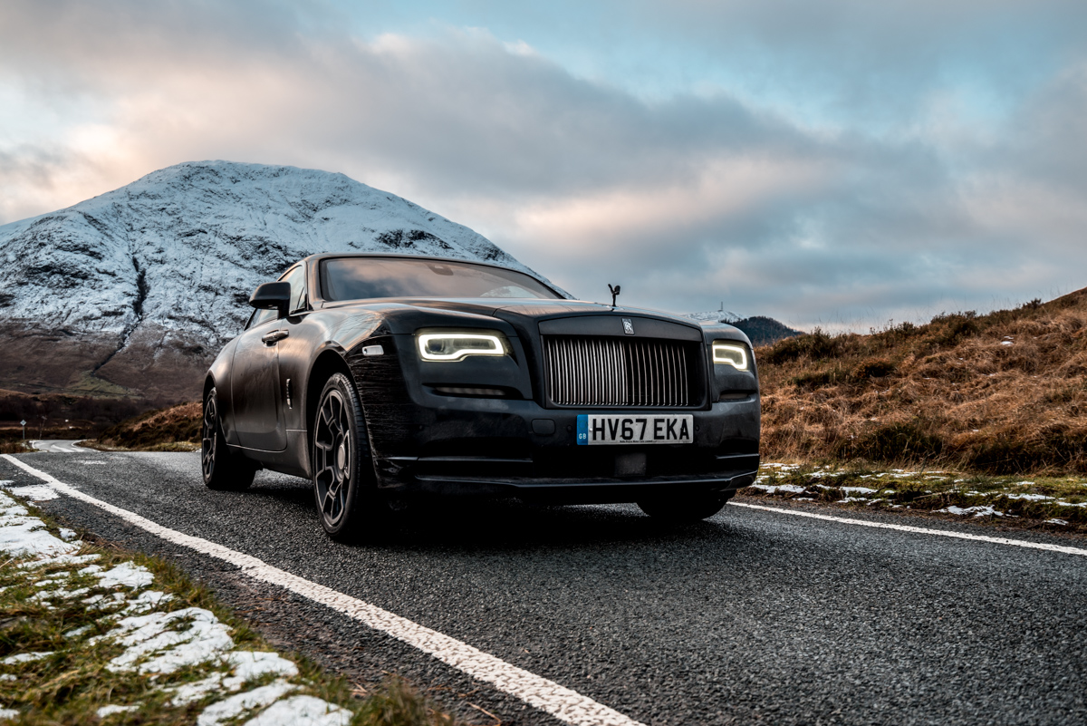 Touring With a Super GT. The Rolls-Royce Wraith Black Badge 9
