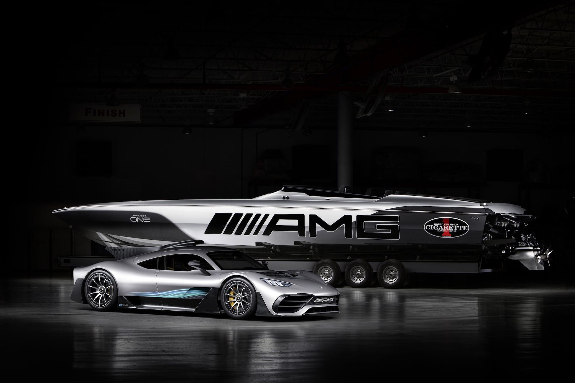 Cigarette Racing 515 Project ONE: The new performance benchmark on the water 1