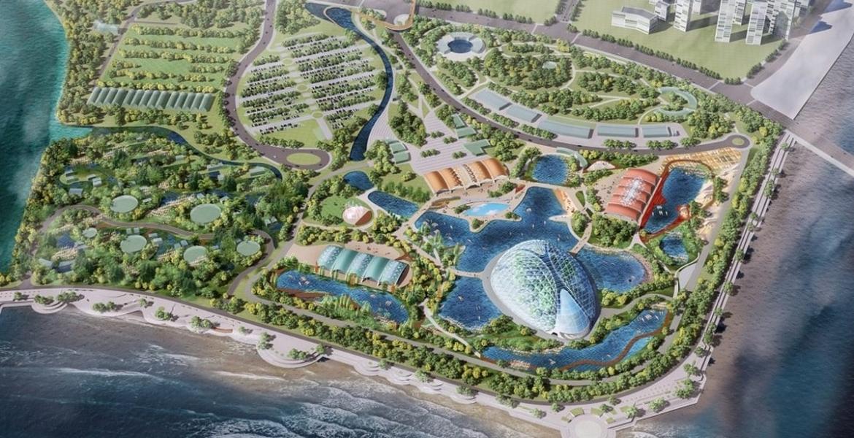 In China entsteht ein Indoor-Wasserfall, so hoch wie die Niagara Fälle