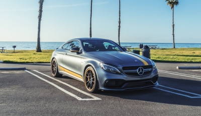 Entlang der Küste Kaliforniens mit dem Mercedes-AMG C63 Edition 1