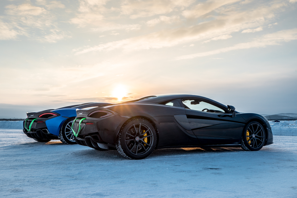 The Pure McLaren Arctic Experience In Finland 8