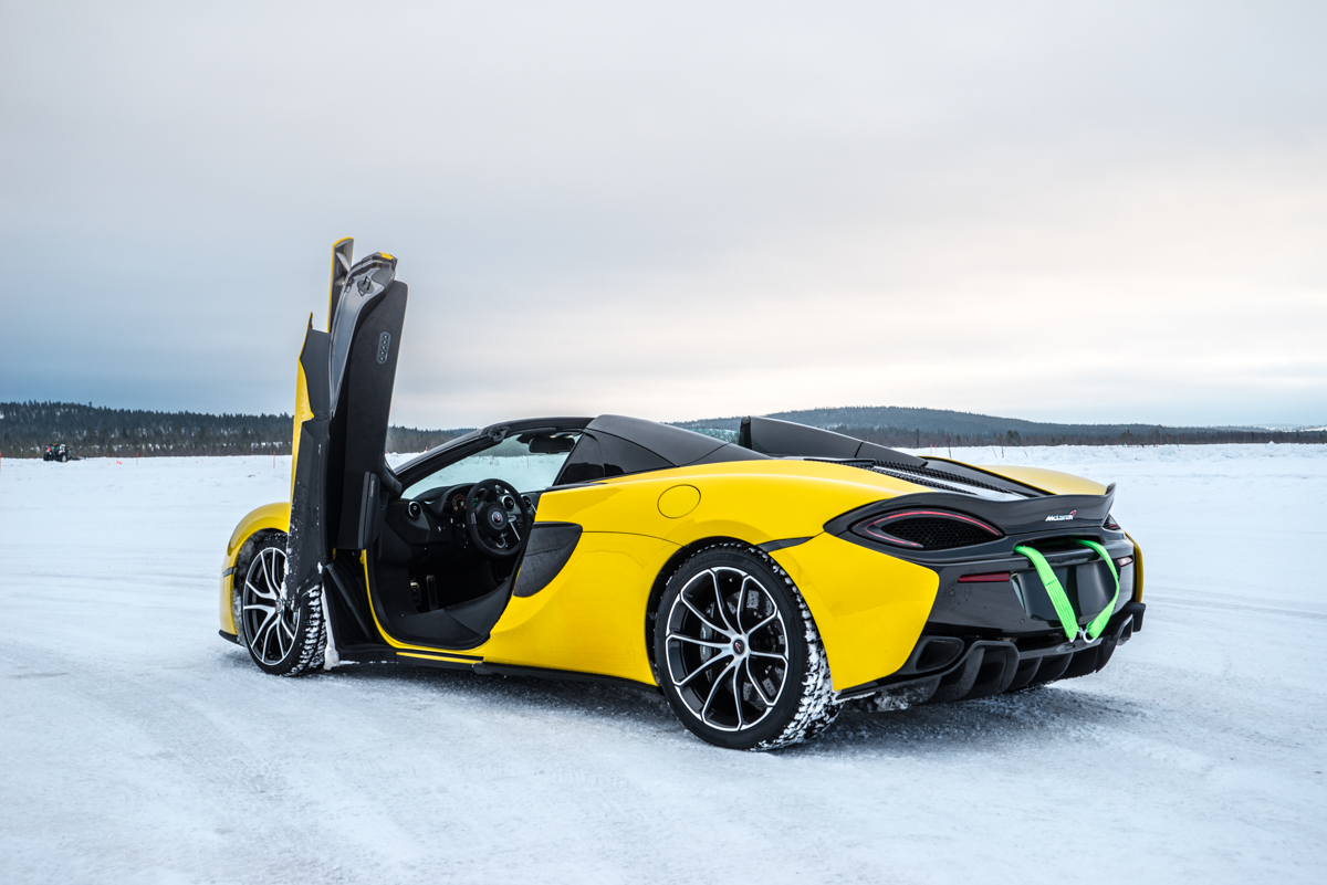 The Pure McLaren Arctic Experience In Finland 9