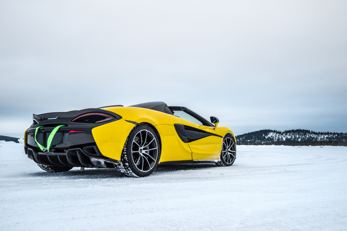 The Pure McLaren Arctic Experience In Finland 3