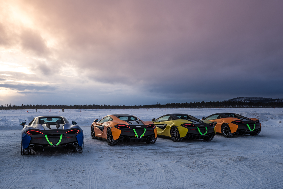 The Pure McLaren Arctic Experience In Finland 4