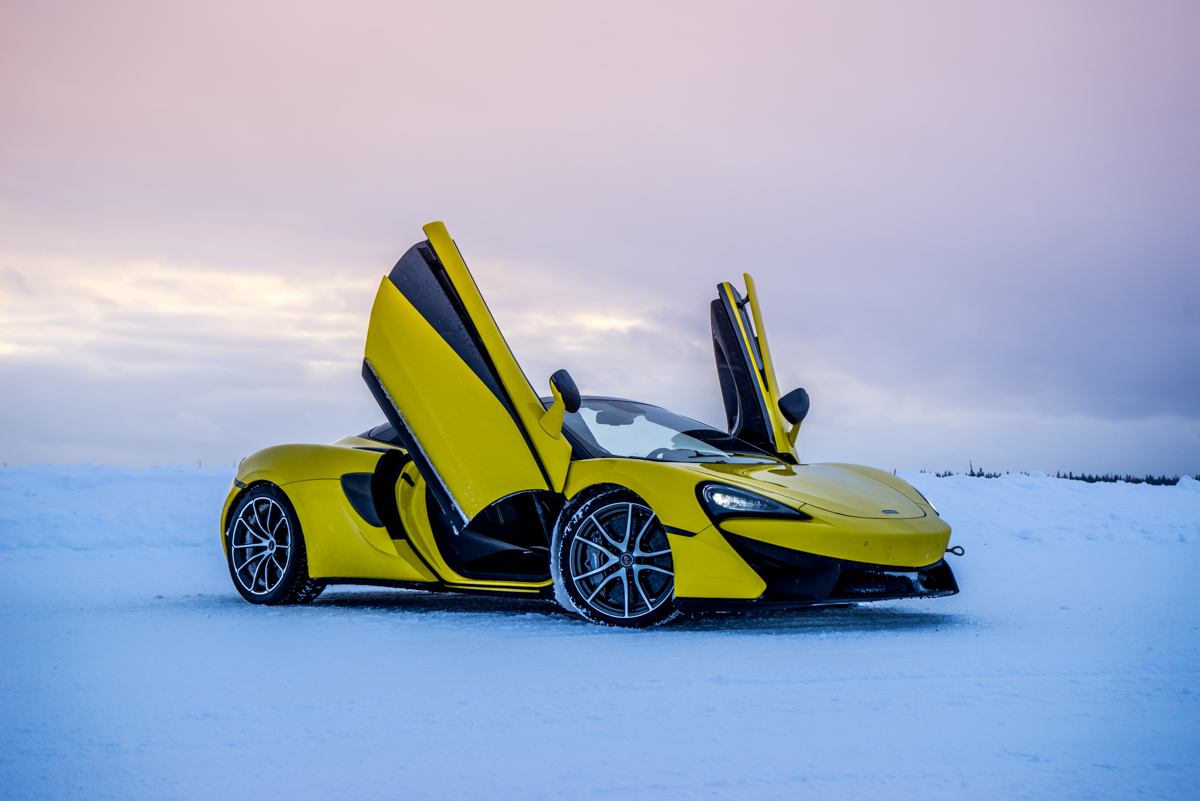 The Pure McLaren Arctic Experience In Finland 7