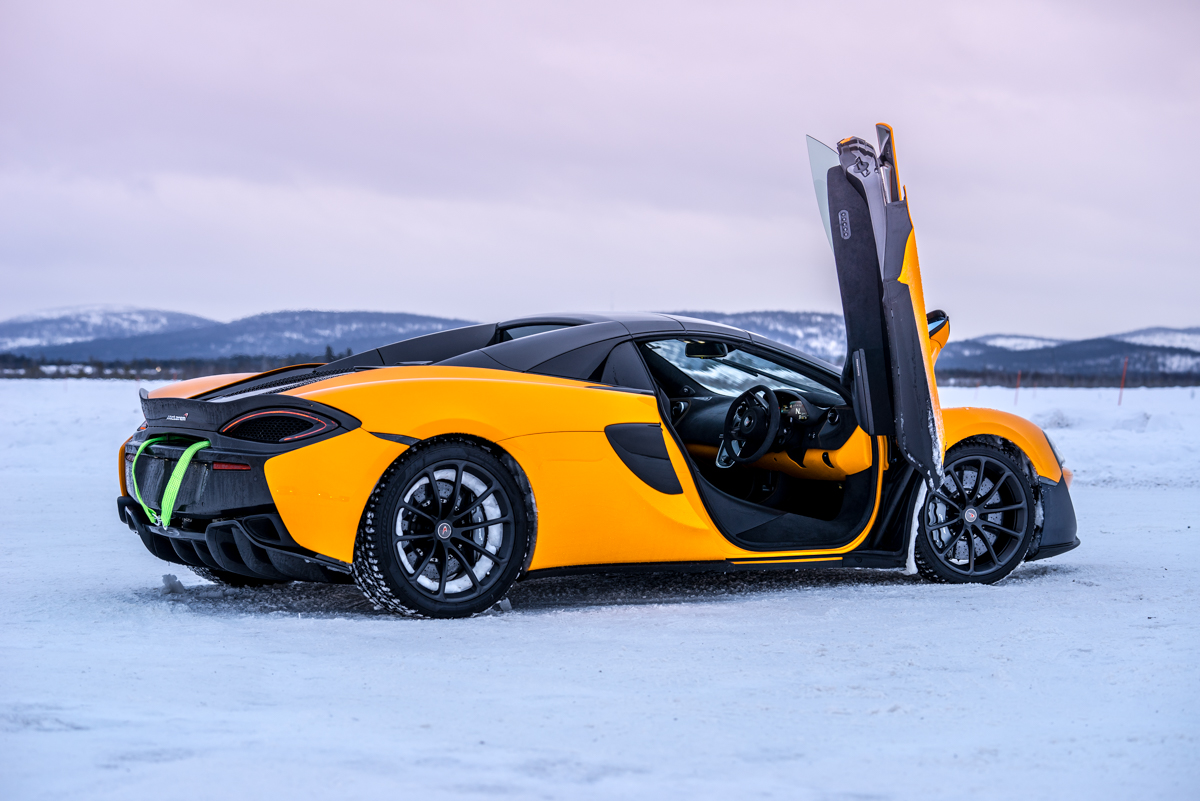 The Pure McLaren Arctic Experience In Finland 5