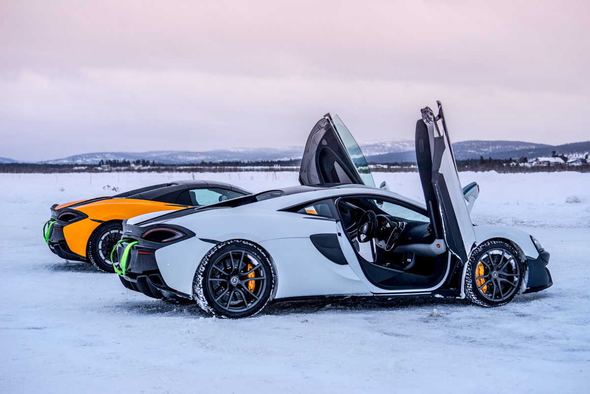 The Pure McLaren Arctic Experience In Finland 1
