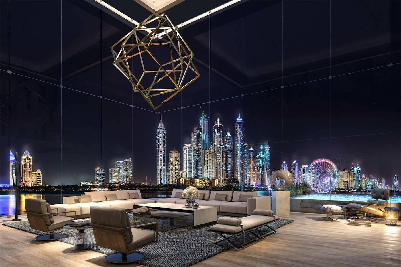 Das extravagante ONE PALM Penthouse für $ 10,2 Millionen Dollar 11