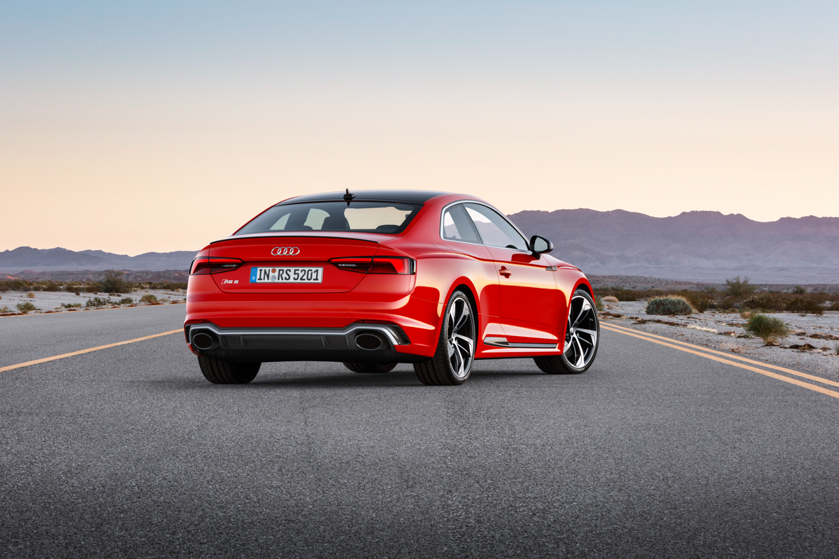 Drive Time in The New Audi RS5 4