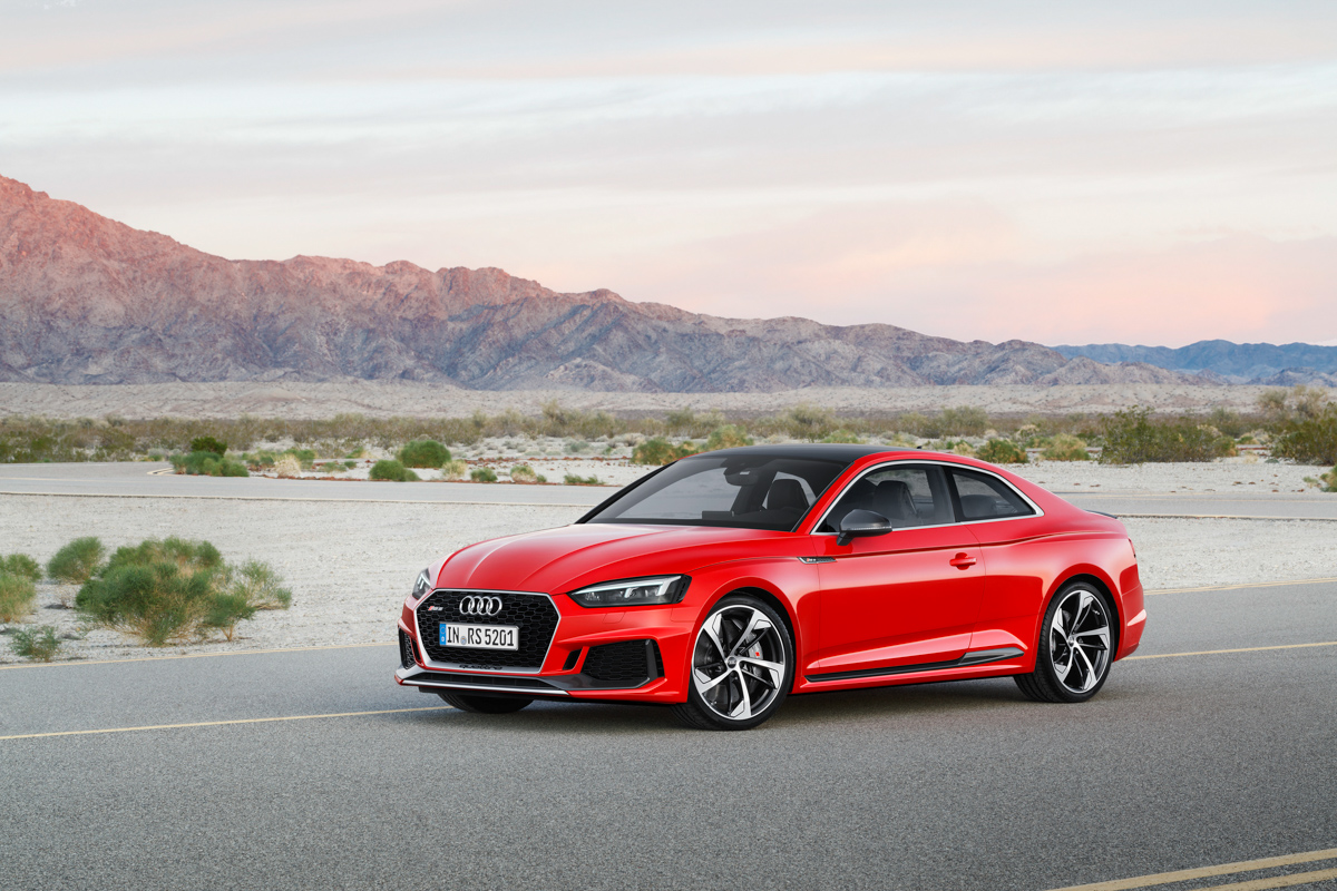 Drive Time in The New Audi RS5 6