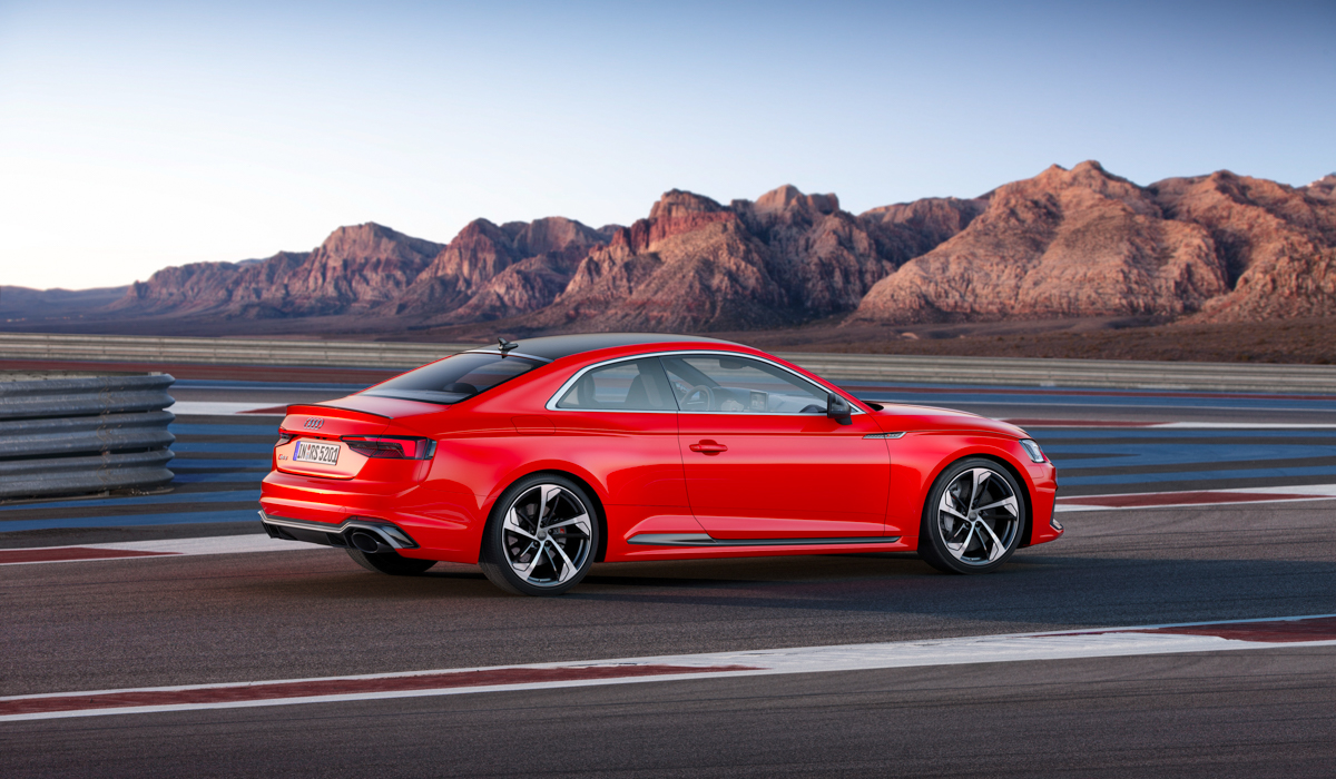 Drive Time in The New Audi RS5 7