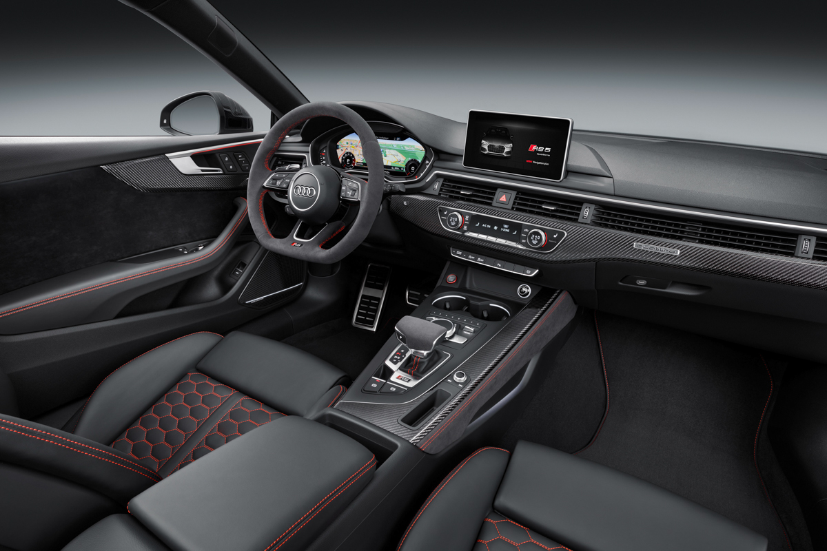 Drive Time in The New Audi RS5 2