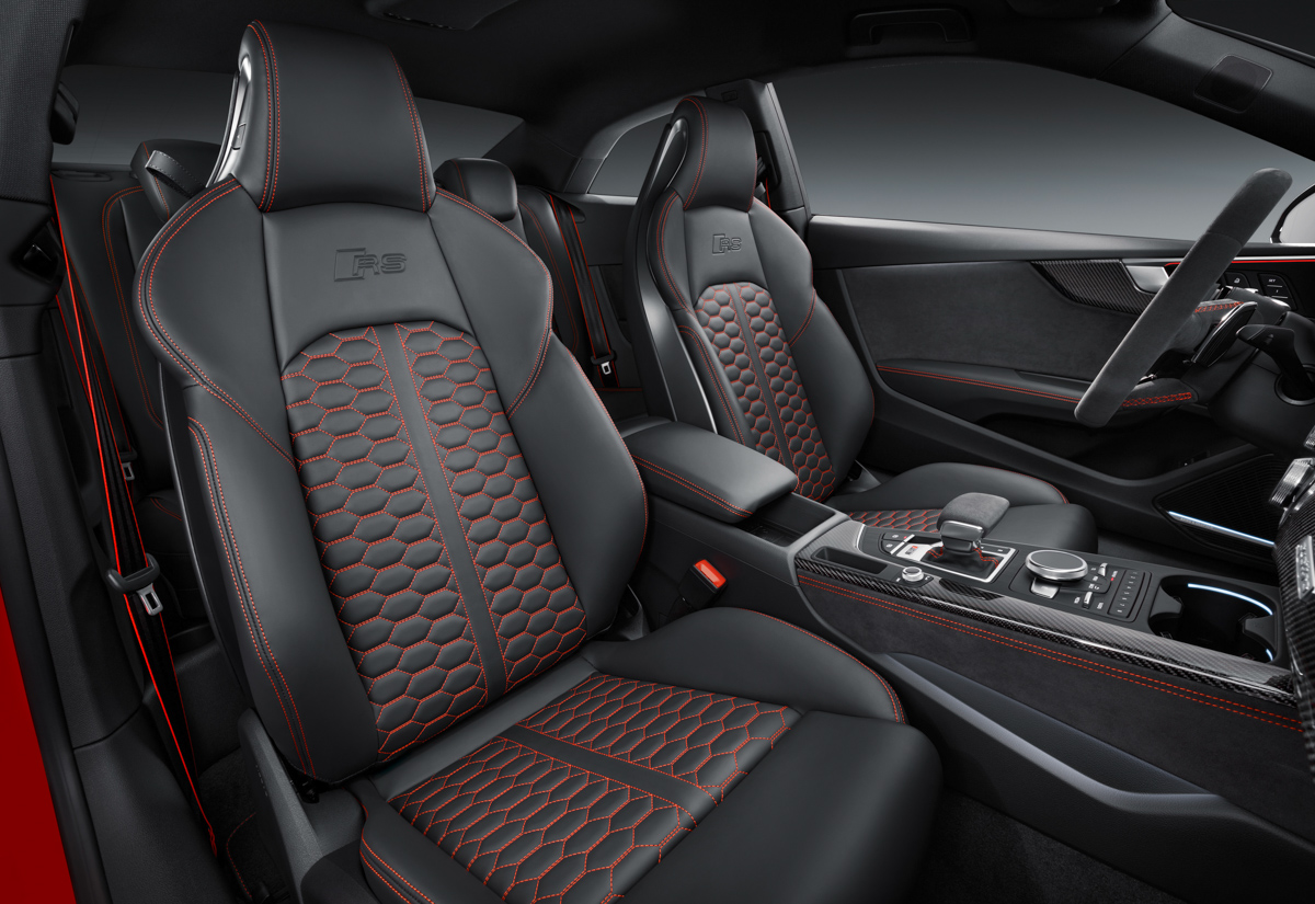 Drive Time in The New Audi RS5 5