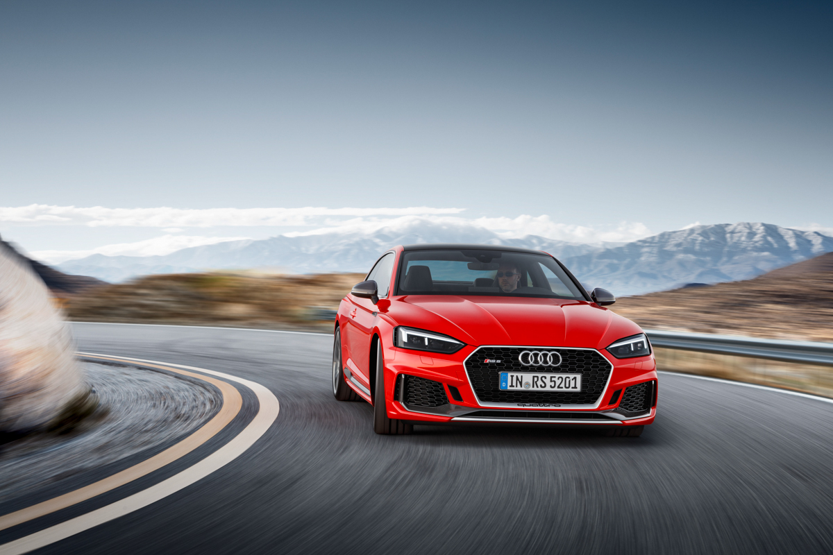 Drive Time in The New Audi RS5 1