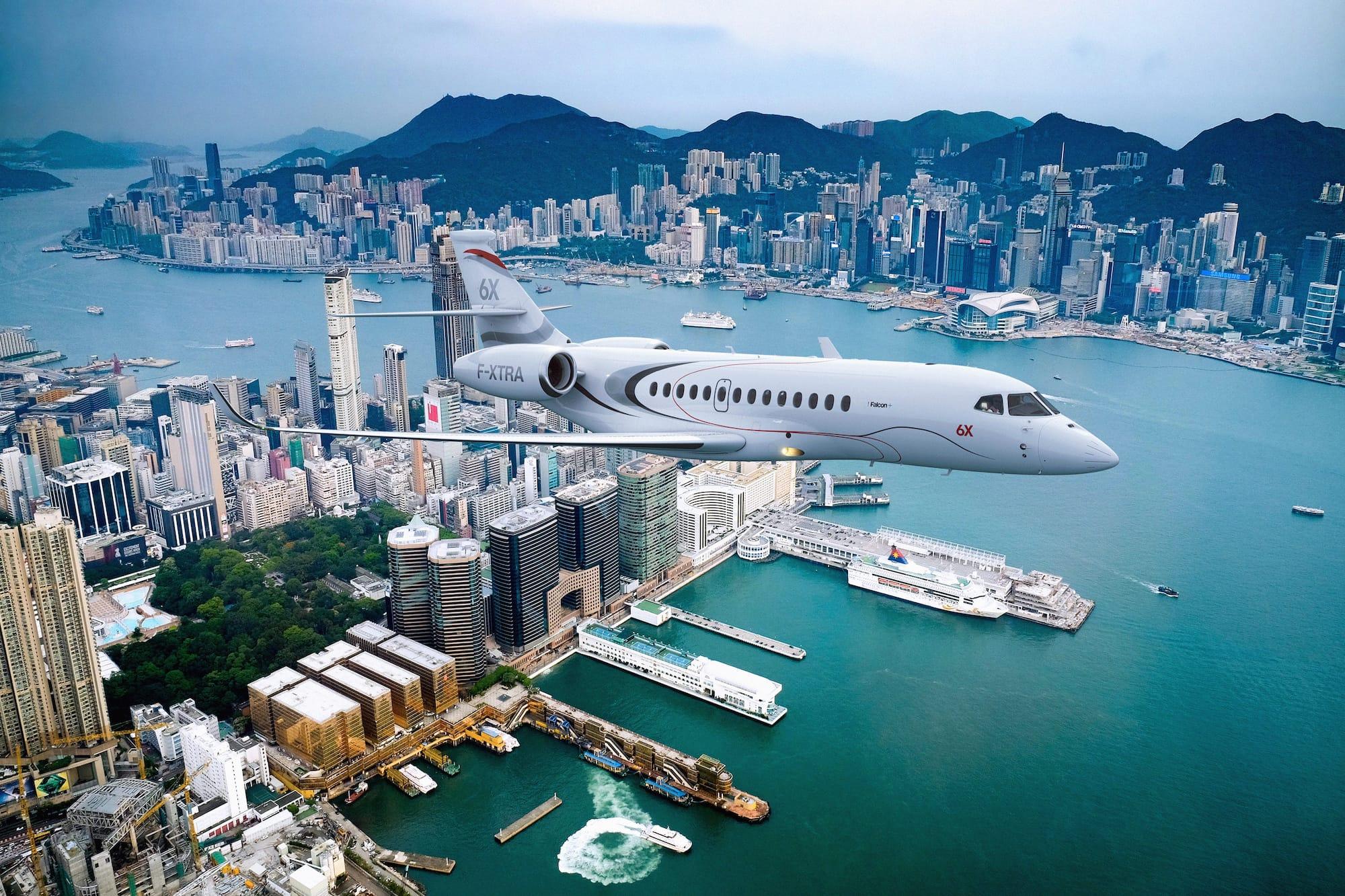 Der Dassault Aviation Falcon 6X: Dieser neue Business Jet kann nonstop von LA nach Genf fliegen 1