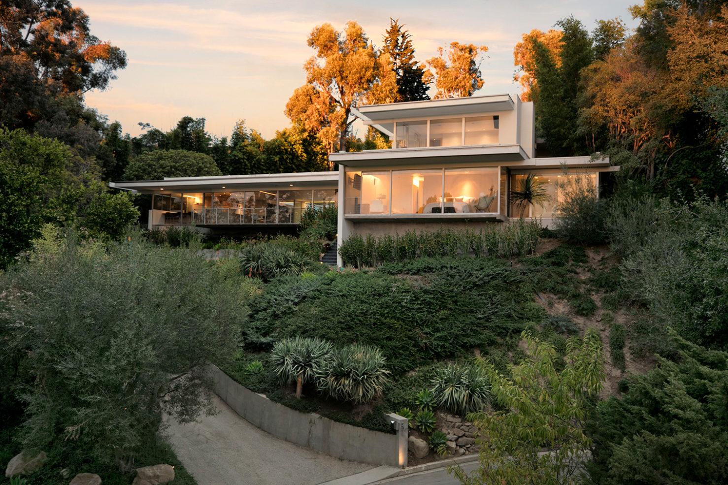 """Das """"Hammerman House"""": Hochmoderne Architektur aus der Mitte des letzten Jahrhunderts 2"""