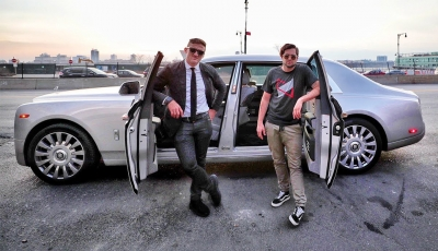 Casey Neistat Puts The All New $600.000 Rolls-Royce Phantom To The Test