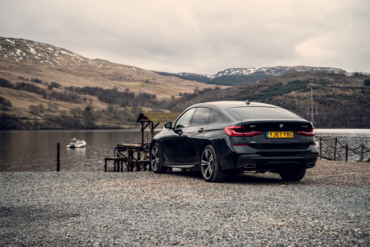Cross Country Touring in The BMW 6 Series Gran Turismo 5
