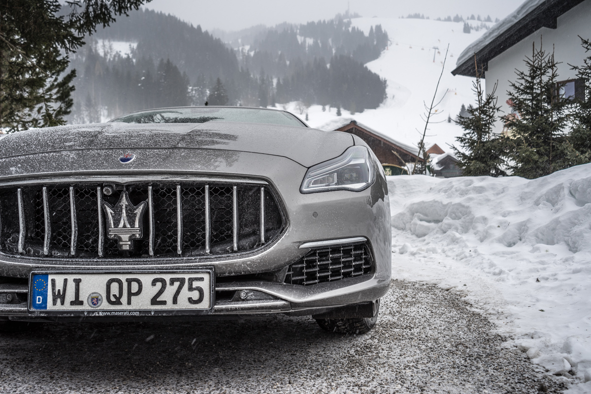 Ice Driving with Maserati In The Austrian Alps 14