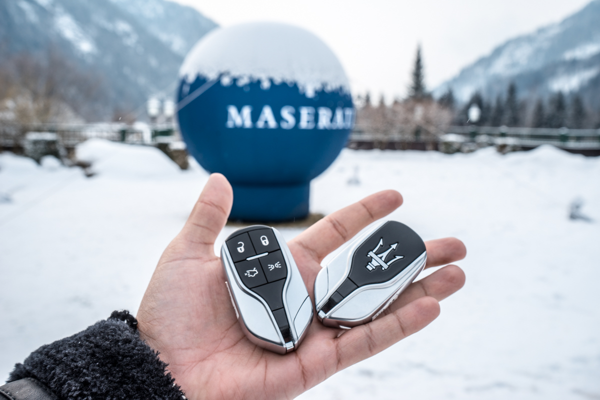 Ice Driving with Maserati In The Austrian Alps 5