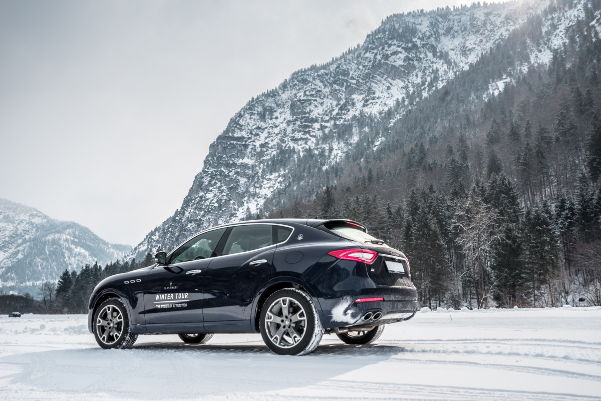 Ice Driving with Maserati In The Austrian Alps 13