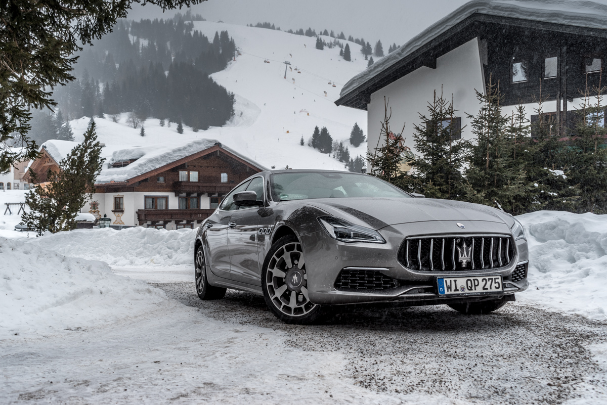 Ice Driving with Maserati In The Austrian Alps 6