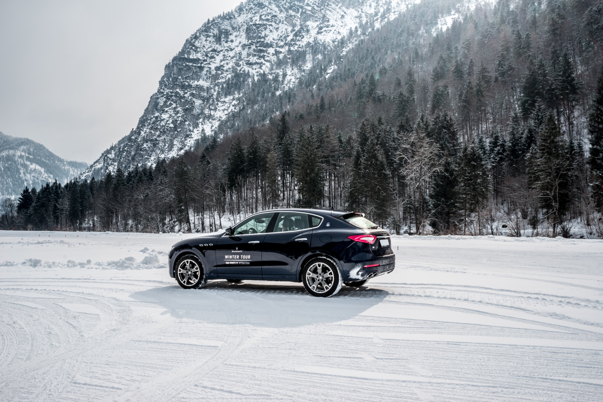 Ice Driving with Maserati In The Austrian Alps 1