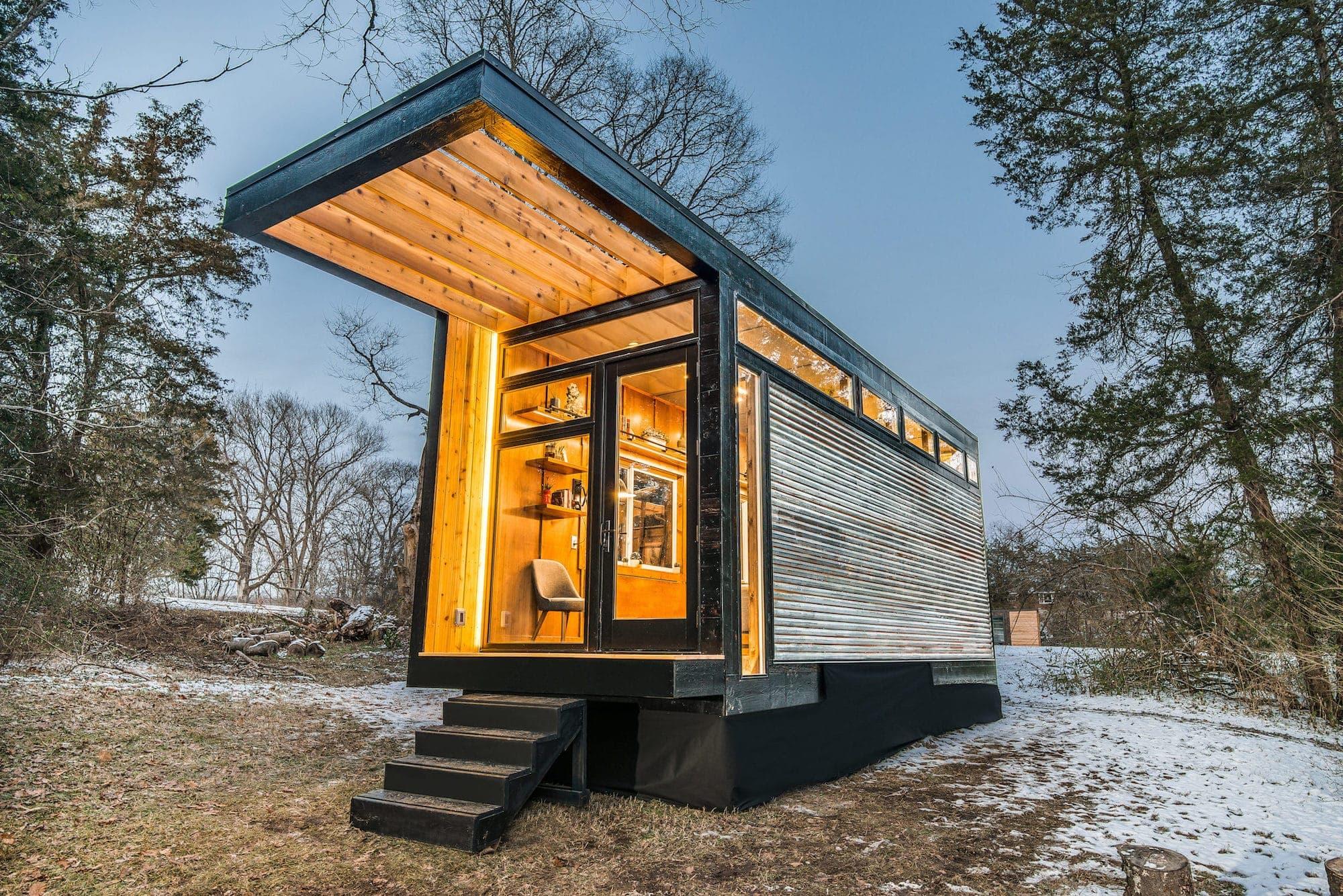 Ein sonderbares Refugium inmitten der Natur: The Cornelia Tiny House 2