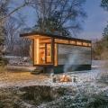 Ein sonderbares Refugium inmitten der Natur: The Cornelia Tiny House