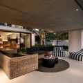 Das Restio River House in Südafrika von SAOTA