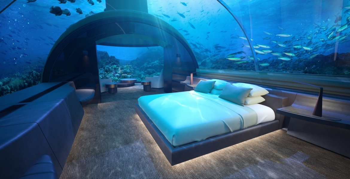 Conrad Maldives Rangali Island: The Incredible Underwater Suite in the Maldives