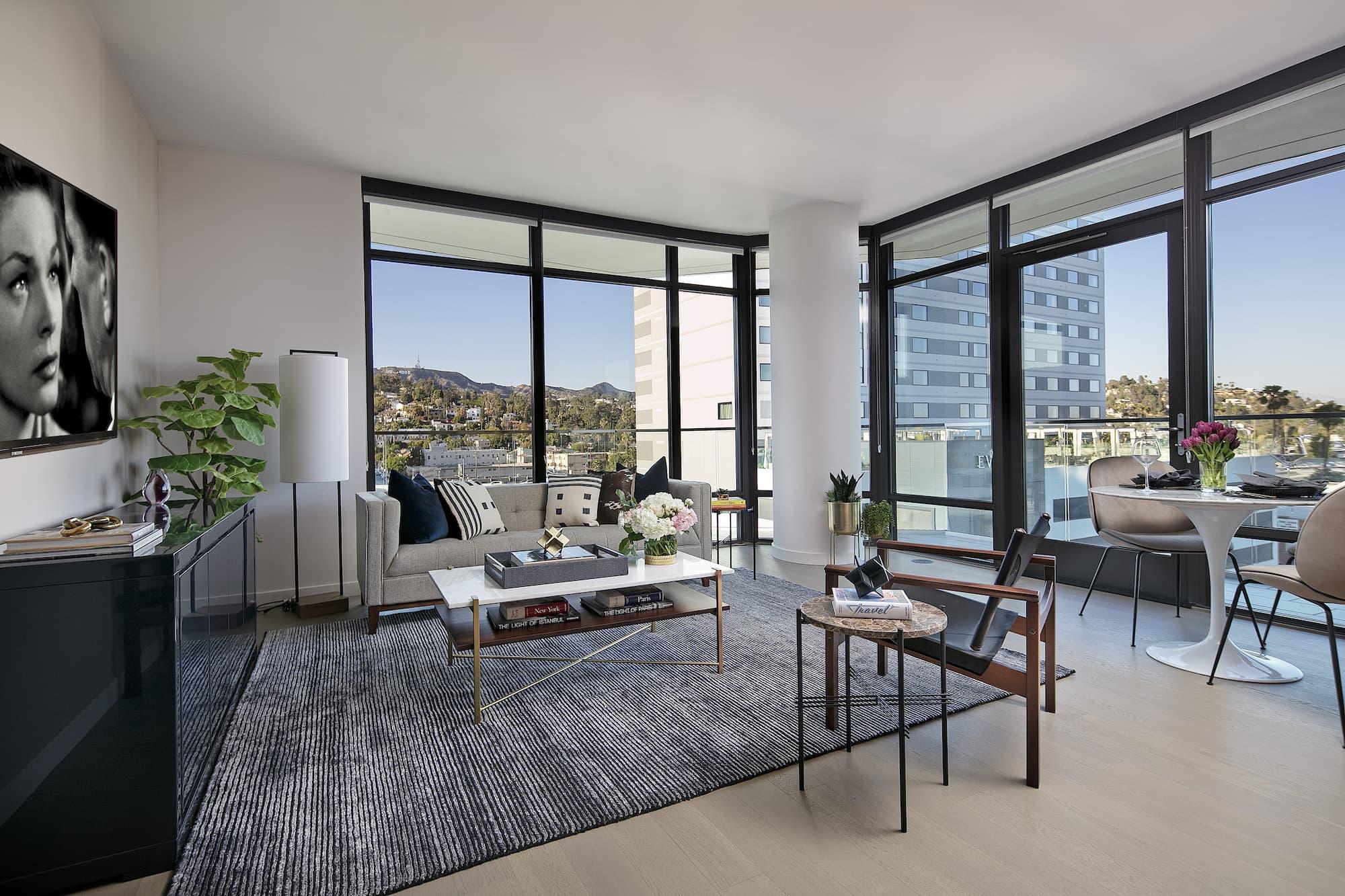 Argyle House Living Room