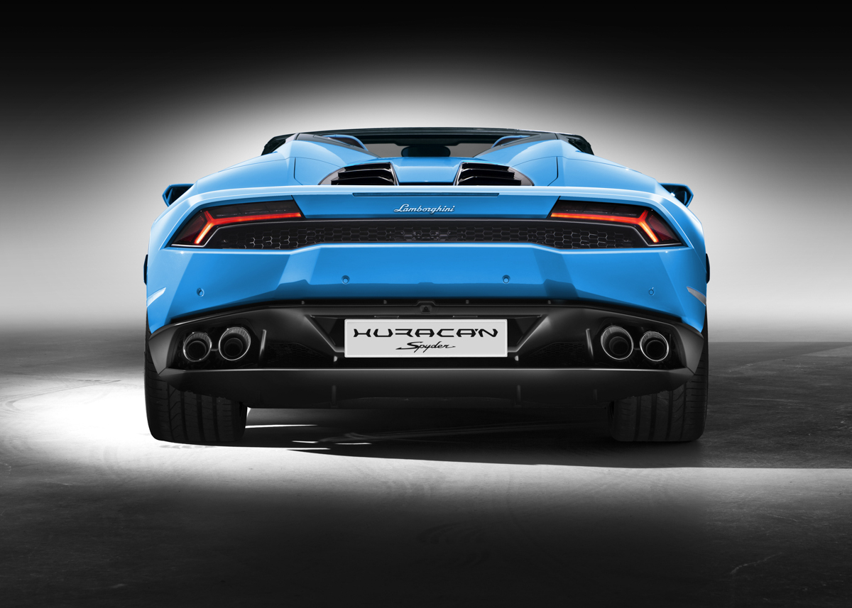 London In The Lamborghini Huracán Spyder 5